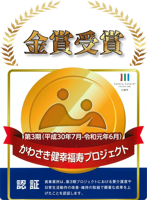 かわさき健幸福寿プロジェクト/金賞受賞